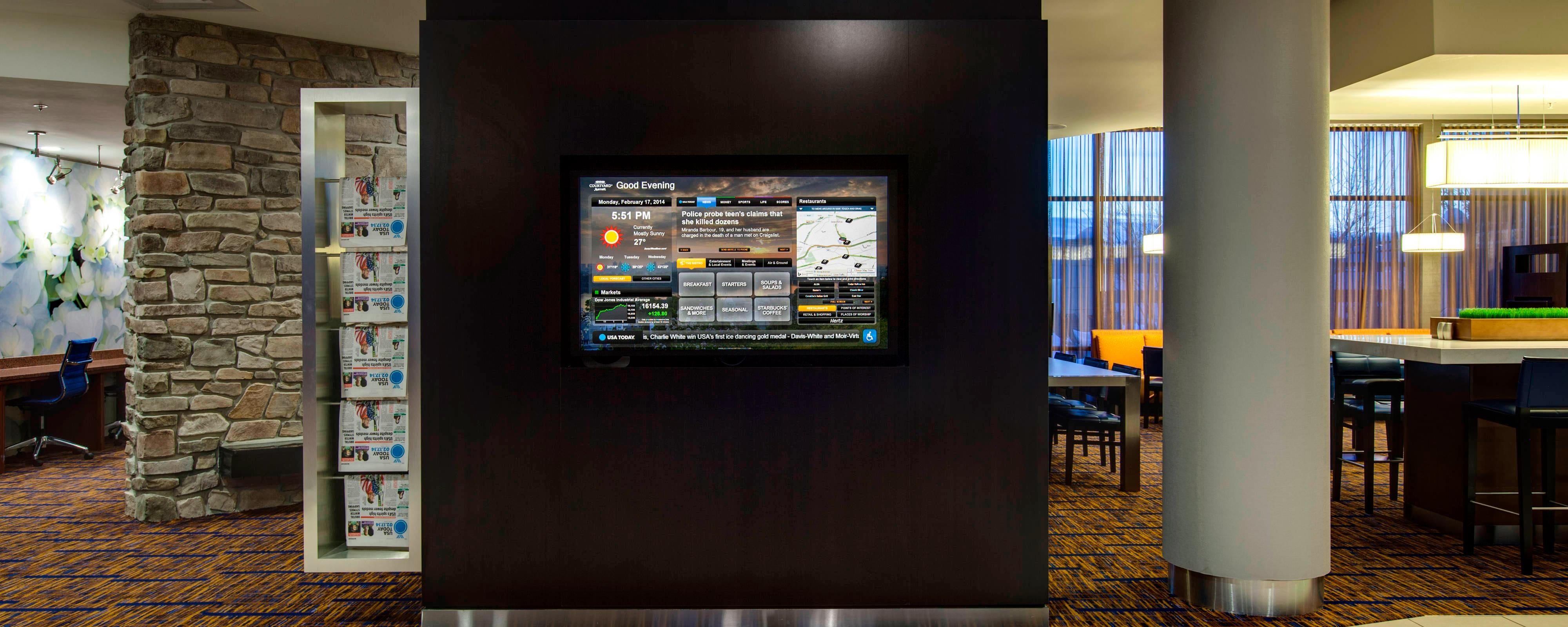 Malvern PA Hotel Lobby