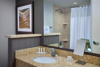 Guest Bathroom – Shower/Tub Combination