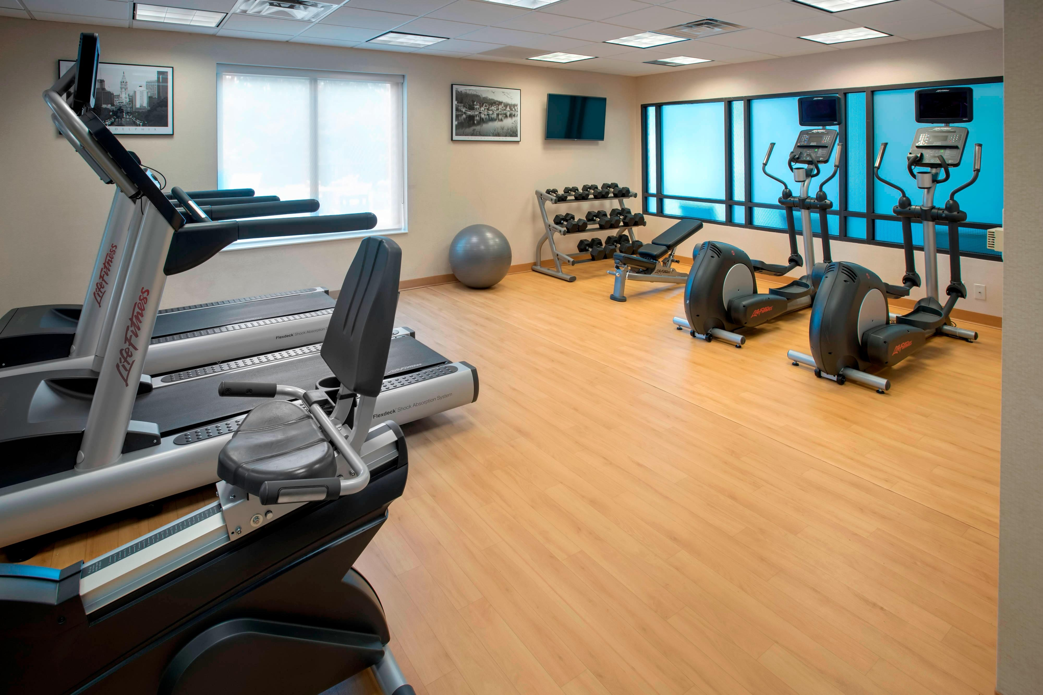 Plymouth Meeting PA Hotels Fitness Center