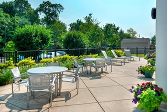 Plymouth Meeting PA Hotels Outdoor Patio
