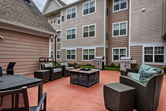Extended Stay Hotel Mount Laurel Outdoor Space