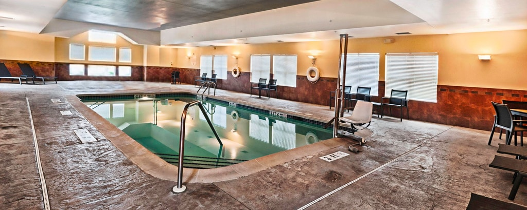 Mount Laurel NJ Hotel - Piscina cubierta