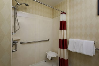 Exton Pennsylvania Roll-in Shower