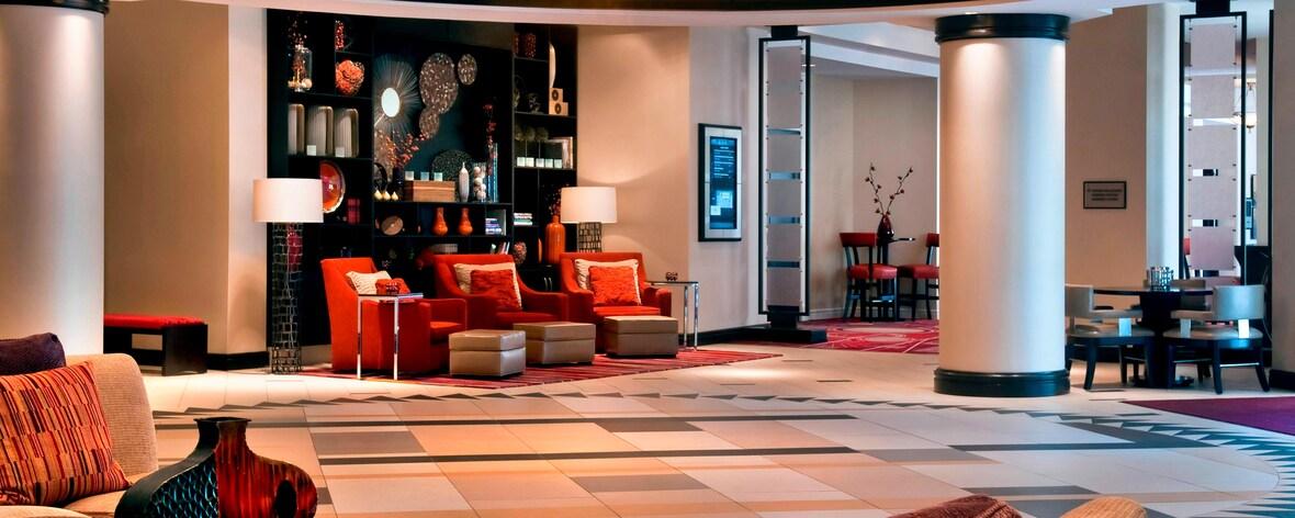 Hall de l'hôtel dans l'ouest de Philadelphie