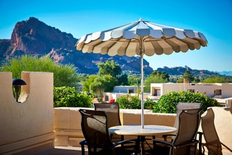 Patios at JW Marriott Scottsdale