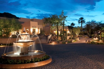 Entrance to JW Marriott Scottsdale