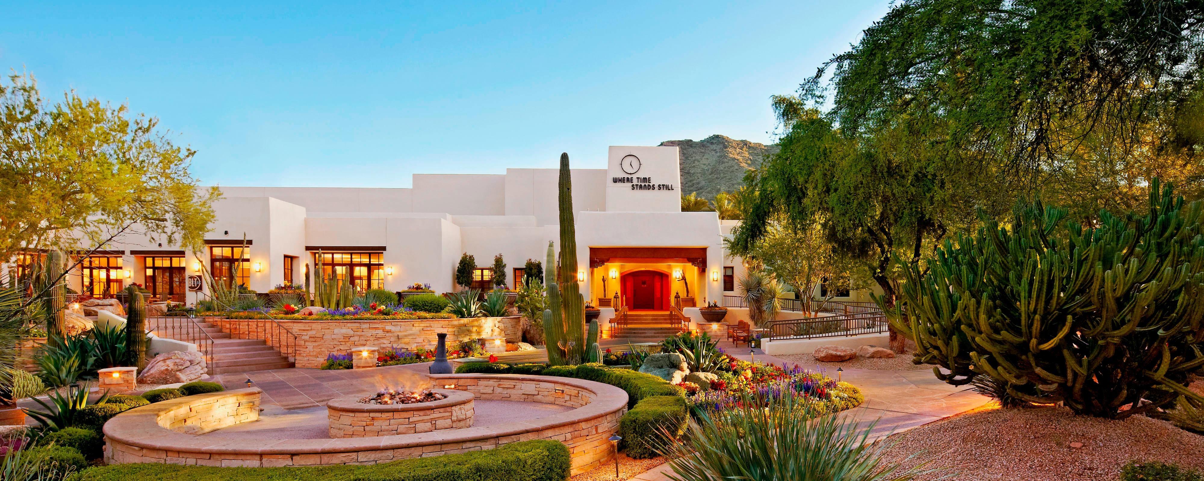 Extérieur du JW Marriott Scottsdale Camelback Inn Resort & Spa