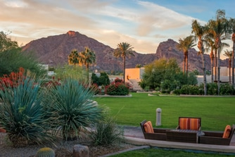 Outdoor event space Camelback Inn