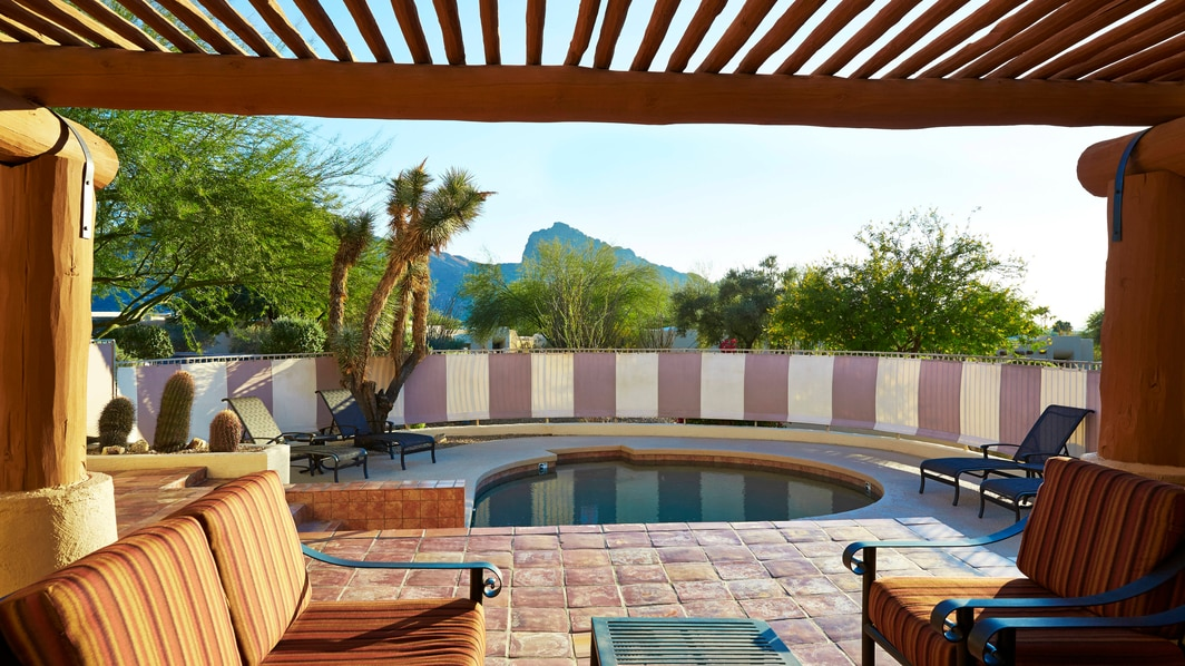 Deluxe-Suite mit Pool im Camelback Inn
