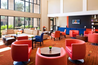 Courtyard Phoenix Chandler Lobby Seating