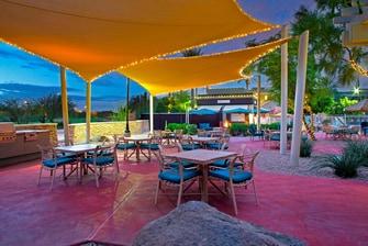 Barbecue Grill Area