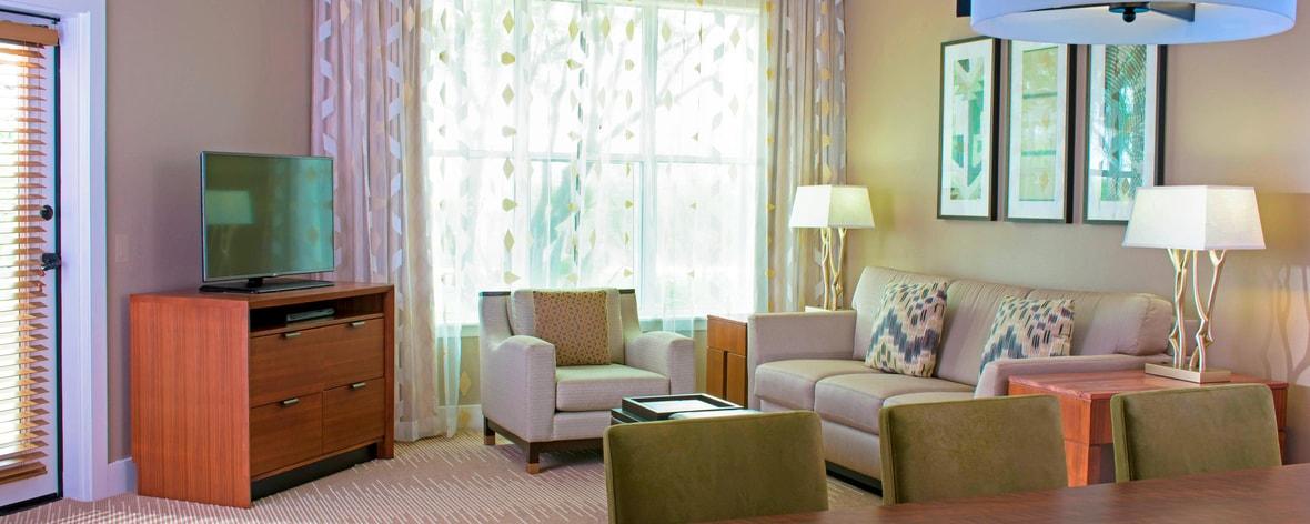 Villa - Living Room & Dining Area