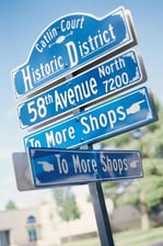 Historic Glendale street signs