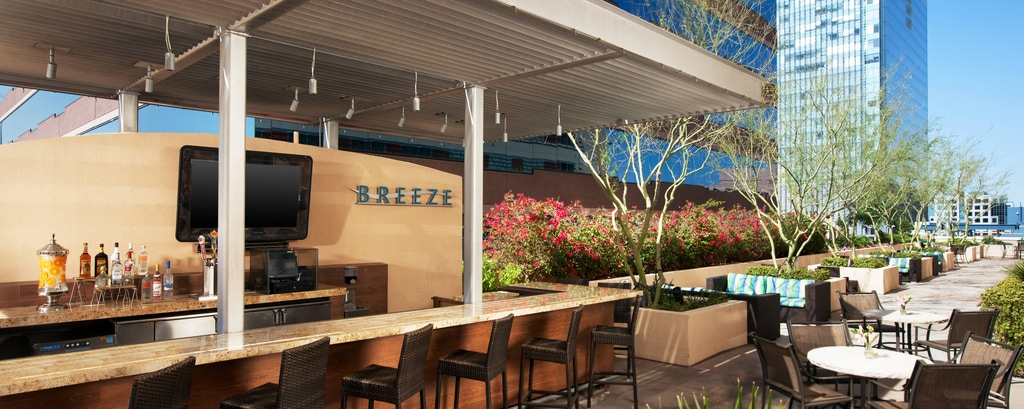 Rooftop Restaurant In Downtown Phoenix