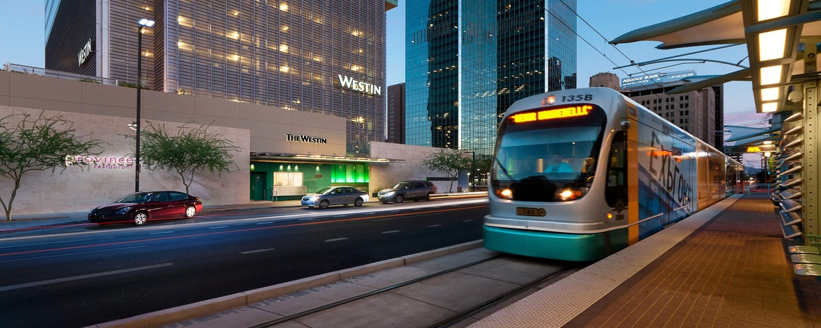 Exterior - Phoenix Metro light rail