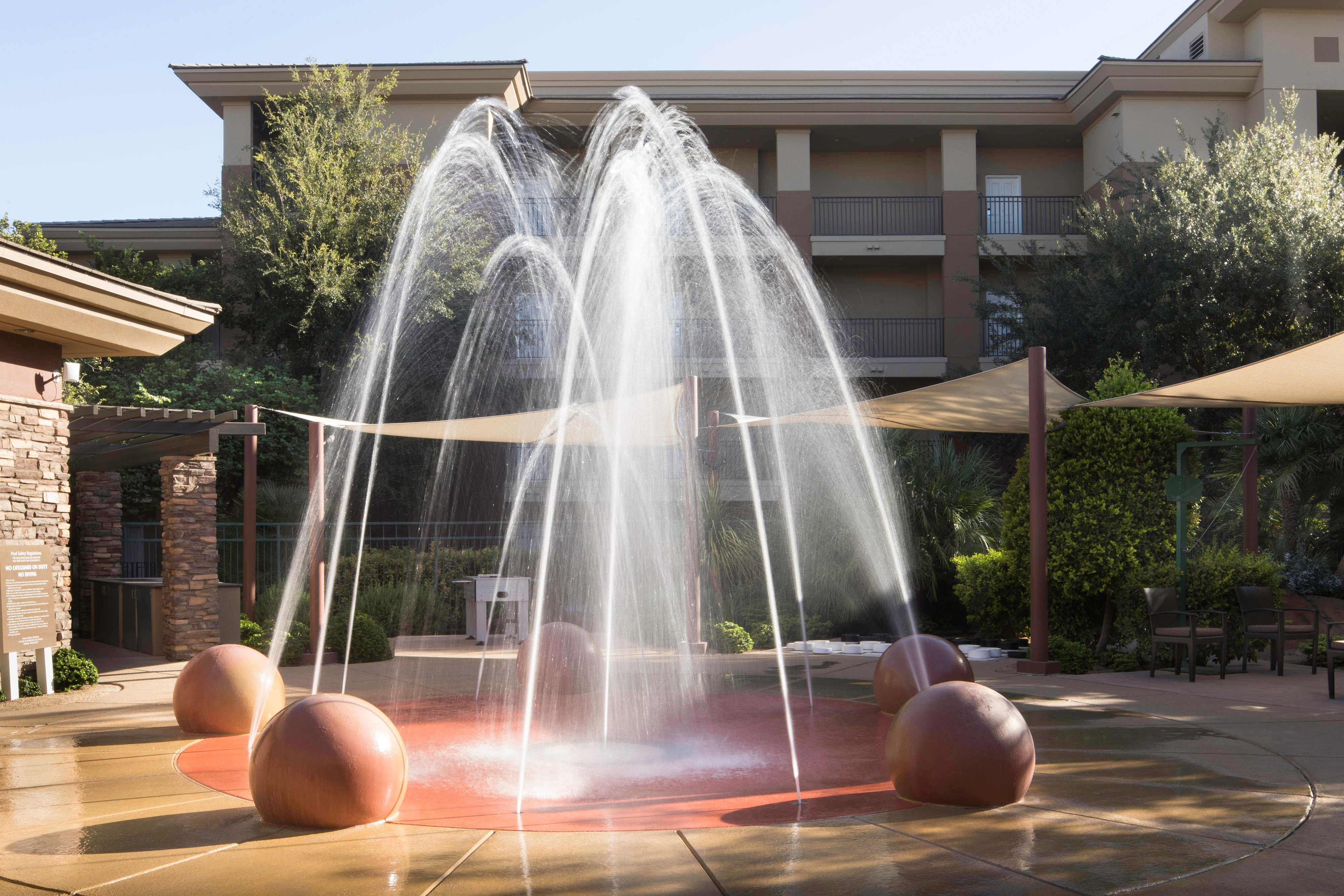 Interactive Water Play Area
