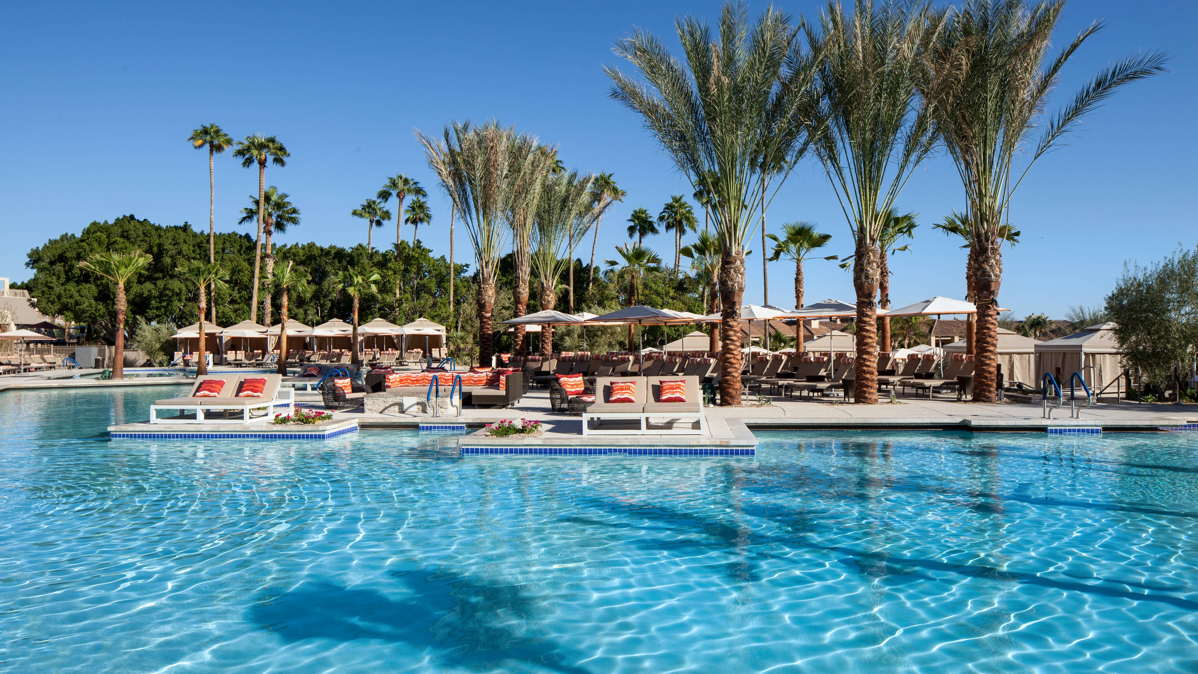 The Phoenician Pools - South View
