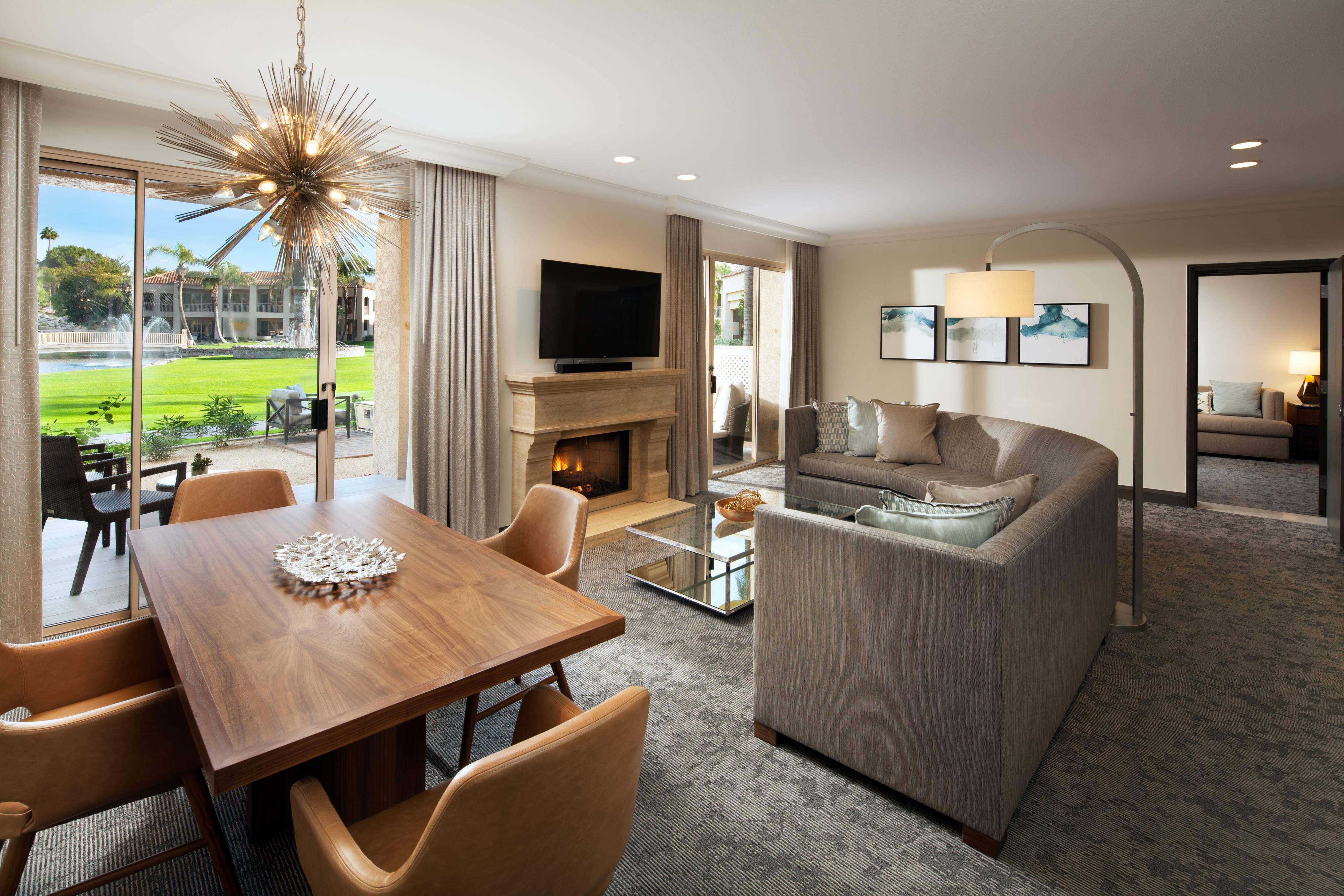 Casita Suite - Living Room