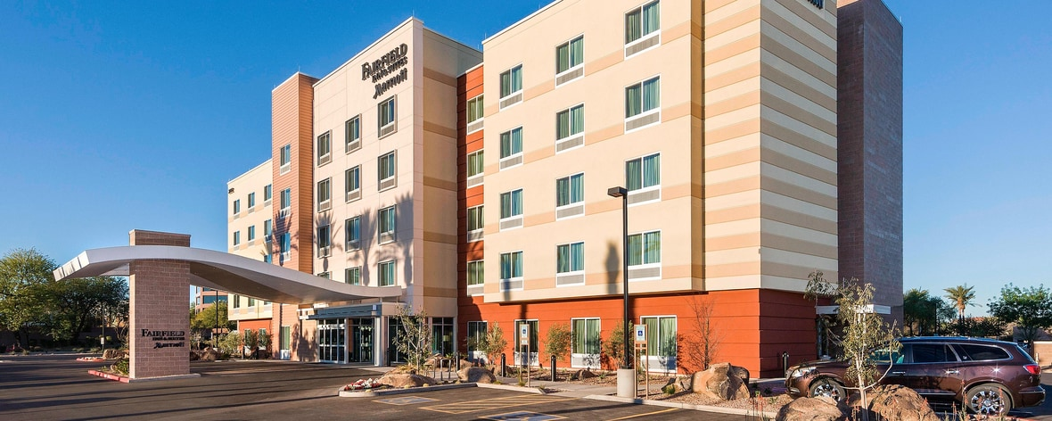 Tempe Az Hotels Near Airport Fairfield Inn Suites Phoenix Tempe