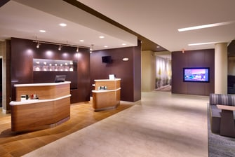 Front Desk Welcome Pedestals
