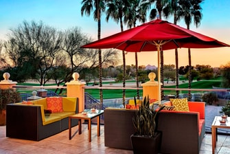 Outdoor Seating Scottsdale Hotel