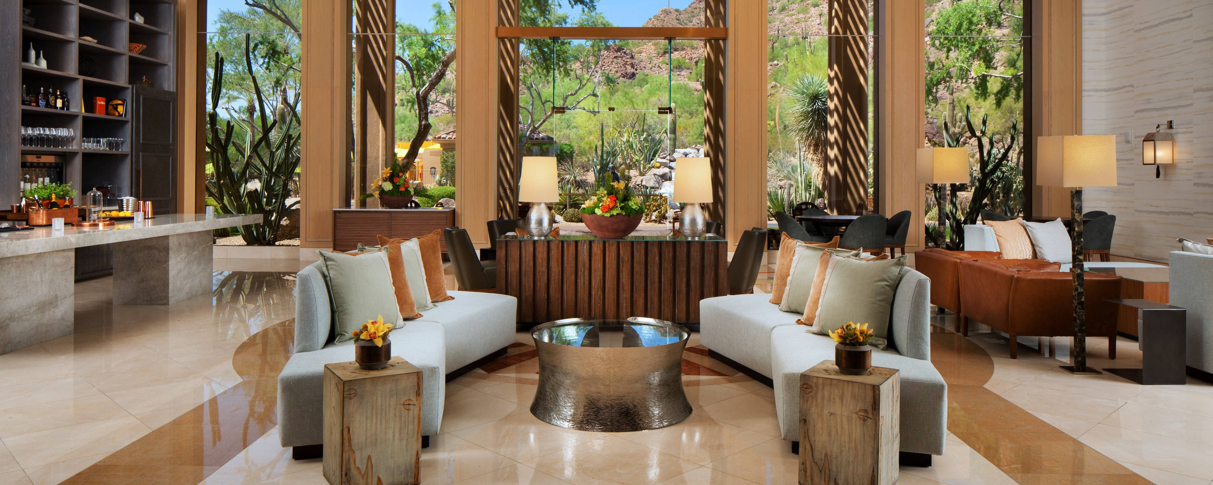 Lobby y lounge Canyon Suite