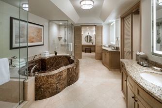 Presidential Suite - Master Bathroom