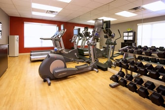 Phoenix hotel with fitness center
