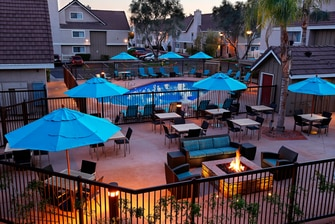 Outdoor Pool & Fire Pit