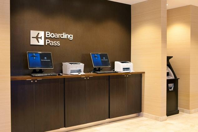Boarding Pass Kiosk