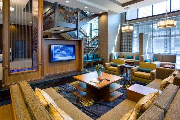 Lobby TV Lounge