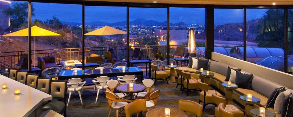 Tempe Restaurant with a View - Dining | Phoenix Marriott Resort Tempe
