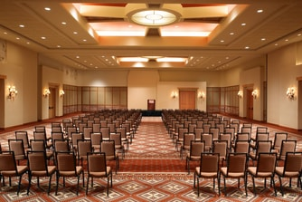 Junior Ballroom set theater style