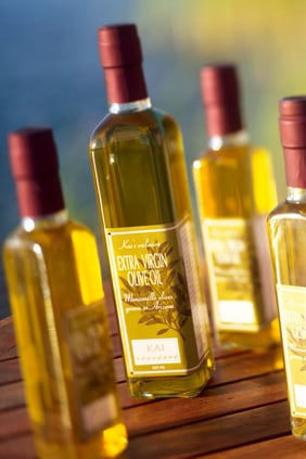Locally grown & pressed olive oil