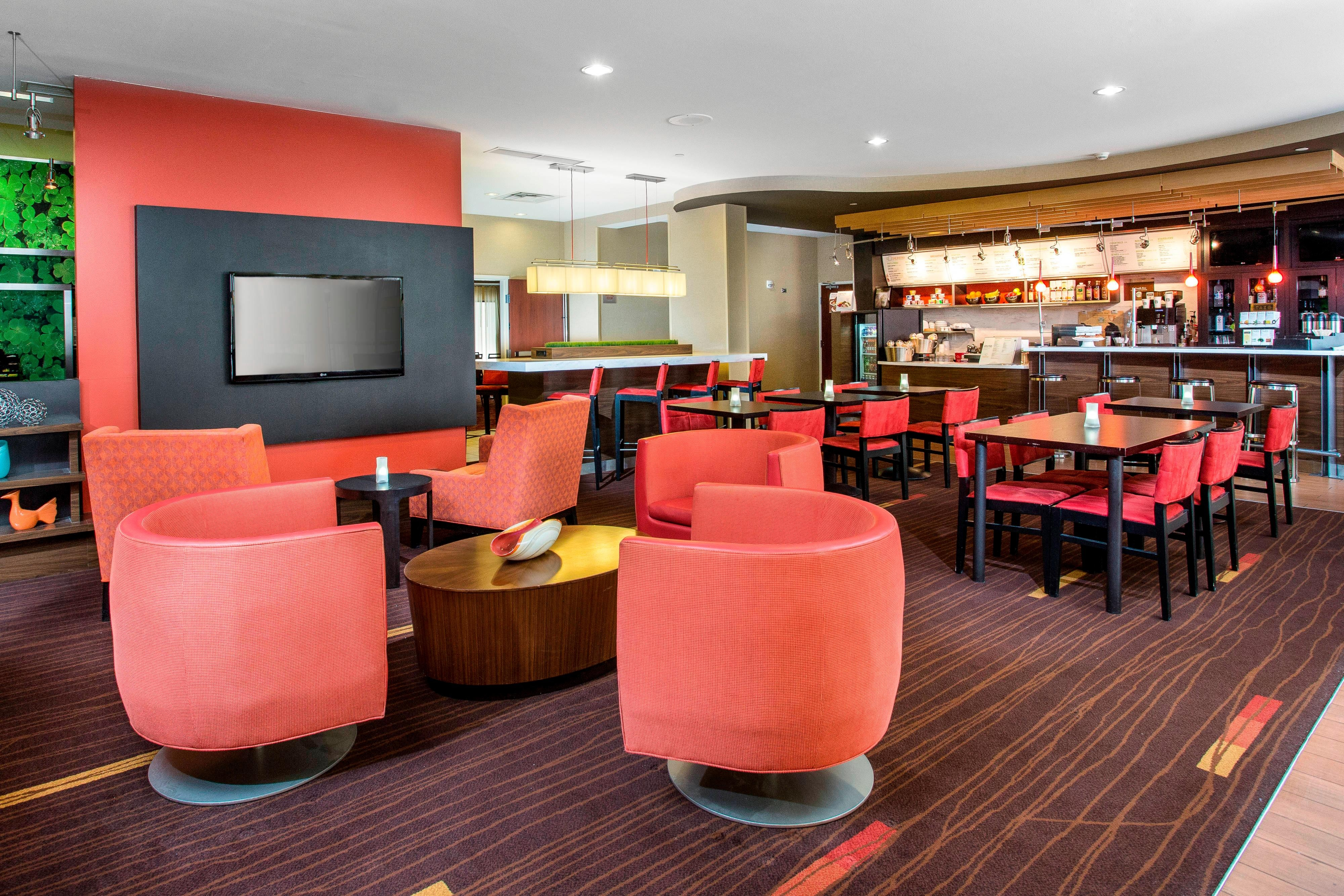 The Bistro & Lounge Area