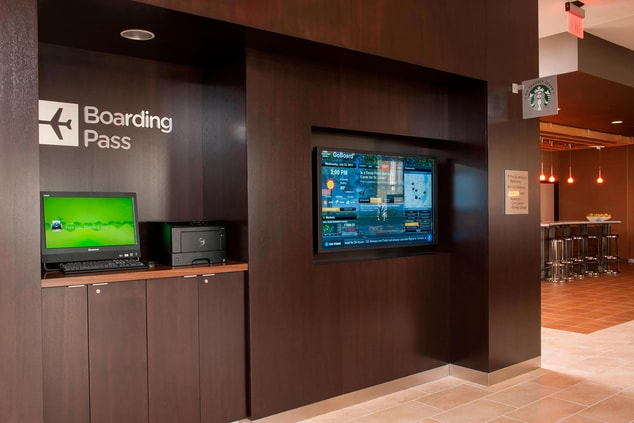 GoBoard & Boarding Pass Station