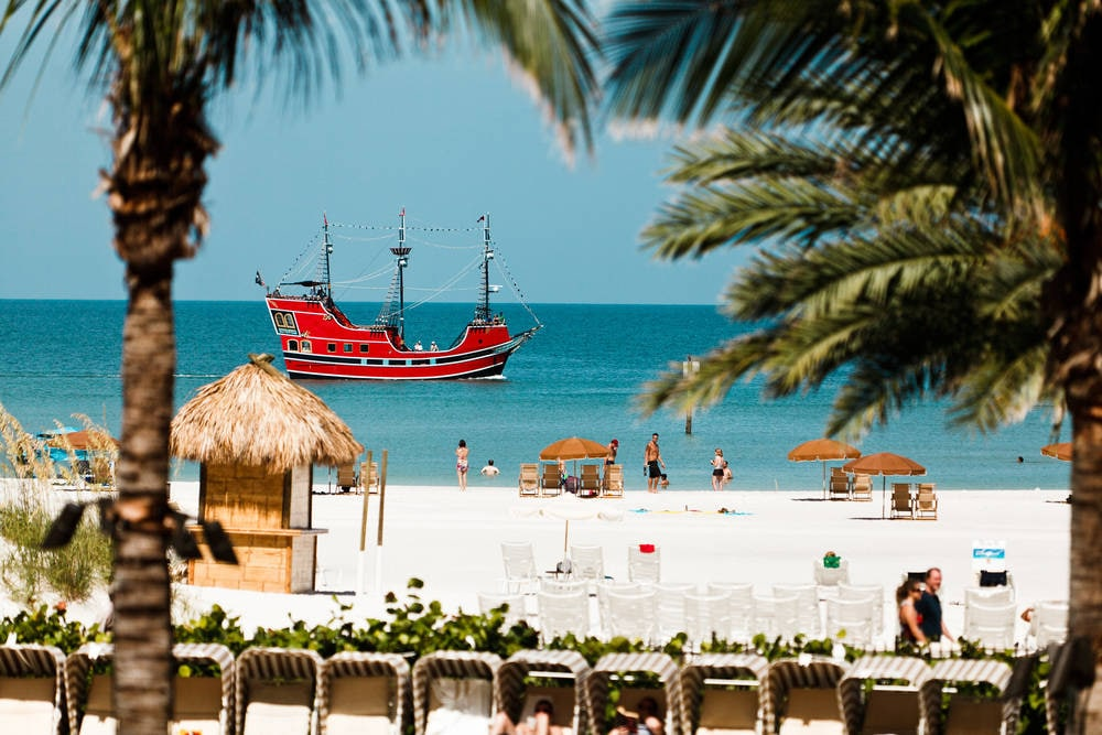 Clearwater Beach Pirate Ship
