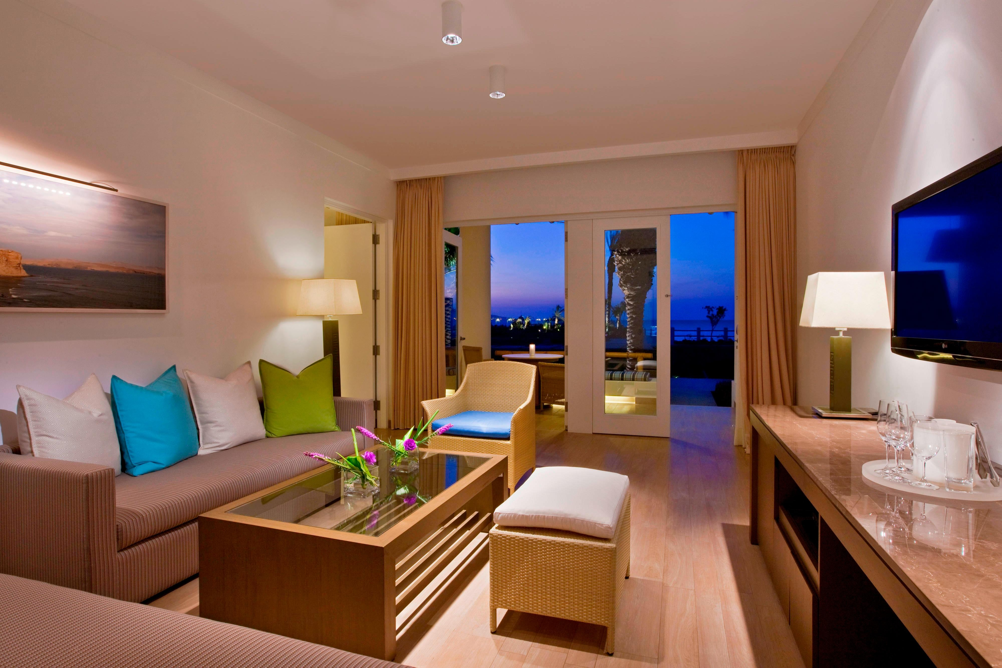 Balcony Suite - Living Room