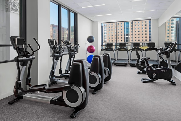 Fitness Center at The Oaklander Hotel