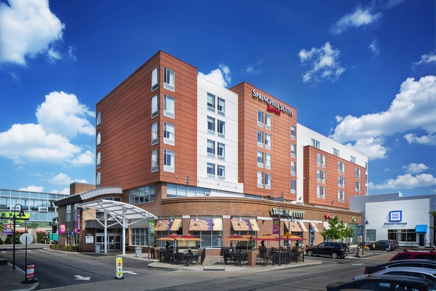 Pittsburgh Hotel SpringHill Suites Bakery Square