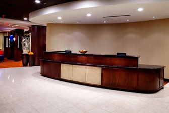 Front Desk Courtyard Lobby Hotel