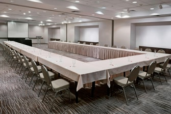 U-Shape Setup Meeting Room