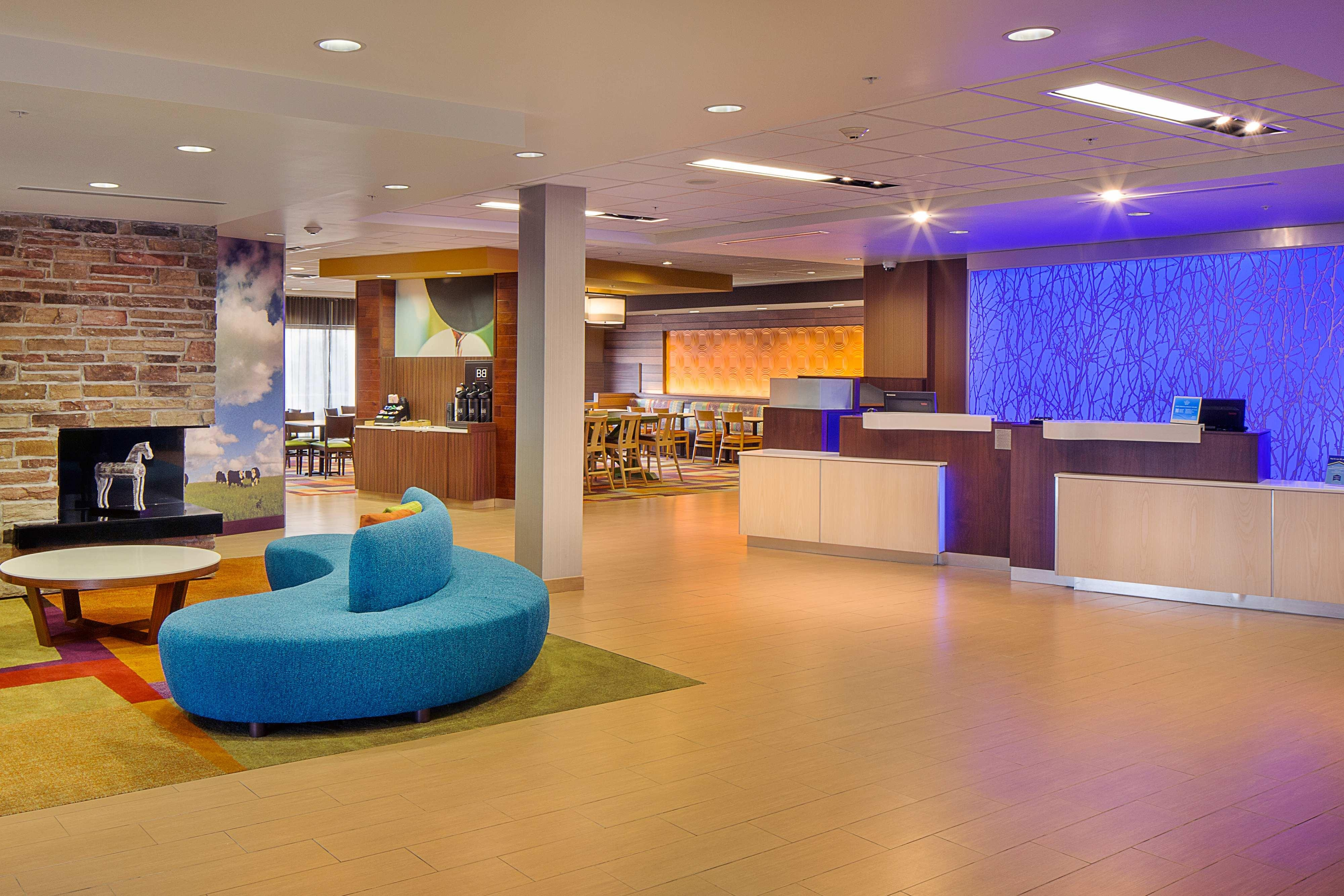 Lobby and Front Desk