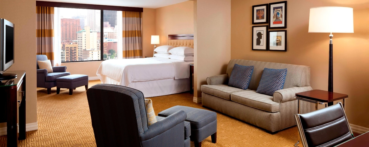 Downtown Pittsburgh Hotels | Sheraton Pittsburgh Hotel at Station Square