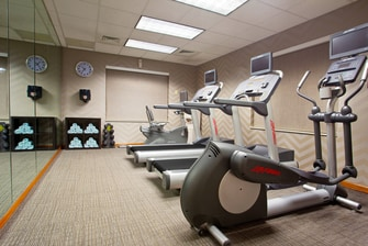 Pittsburgh Airport Hotel Gym