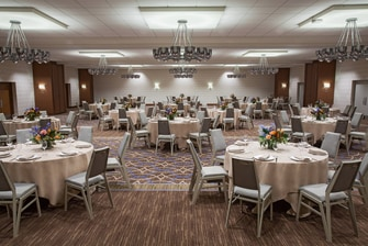 Ballroom - Reception Setup