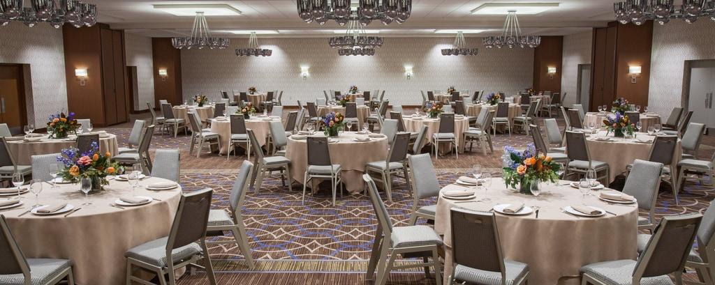 Ballroom - Reception Setup