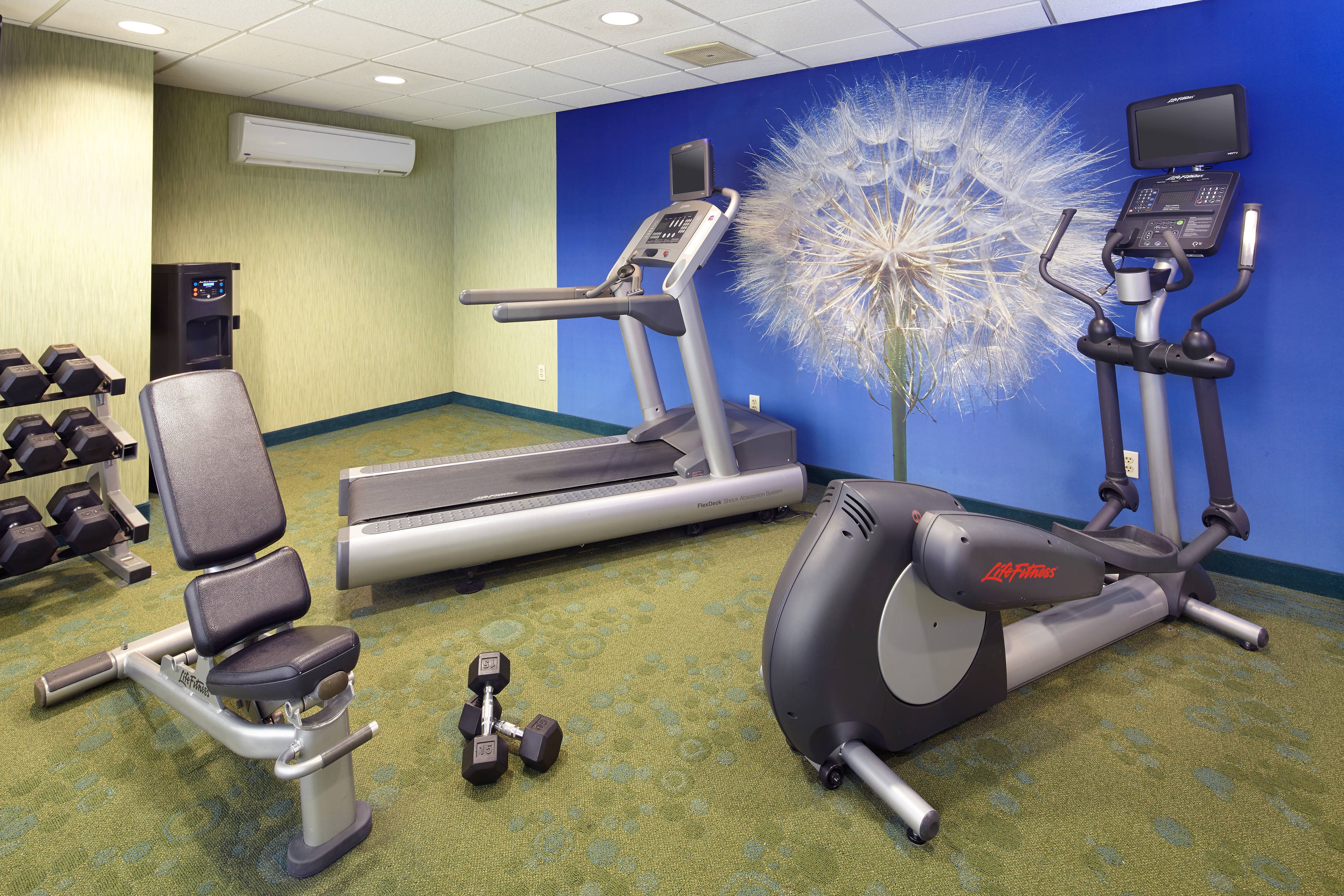 pittsburg airport hotel fitness center
