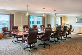 Westin Convention Center Pittsburgh Executive Boardroom Top Floor
