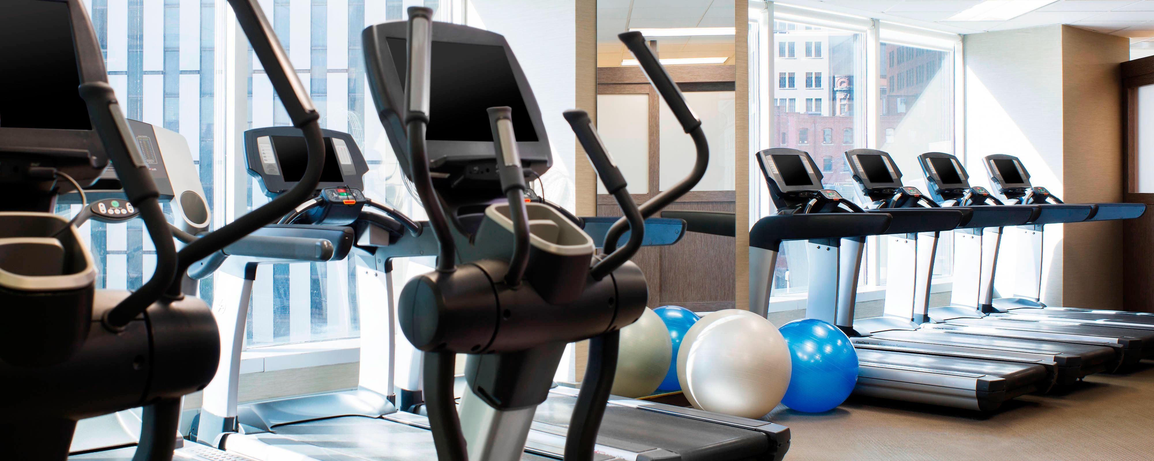 Hotel Gym in Downtown Pittsburgh | The Westin Pittsburgh